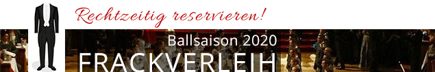 Frackverleih Wien, Ballsaison 2020